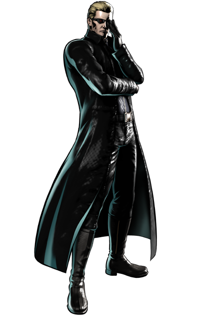 Albert Wesker (M.U.G.E.N Trilogy)