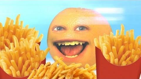 Annoying Orange - Fry-day (Rebecca Black Friday Parody)