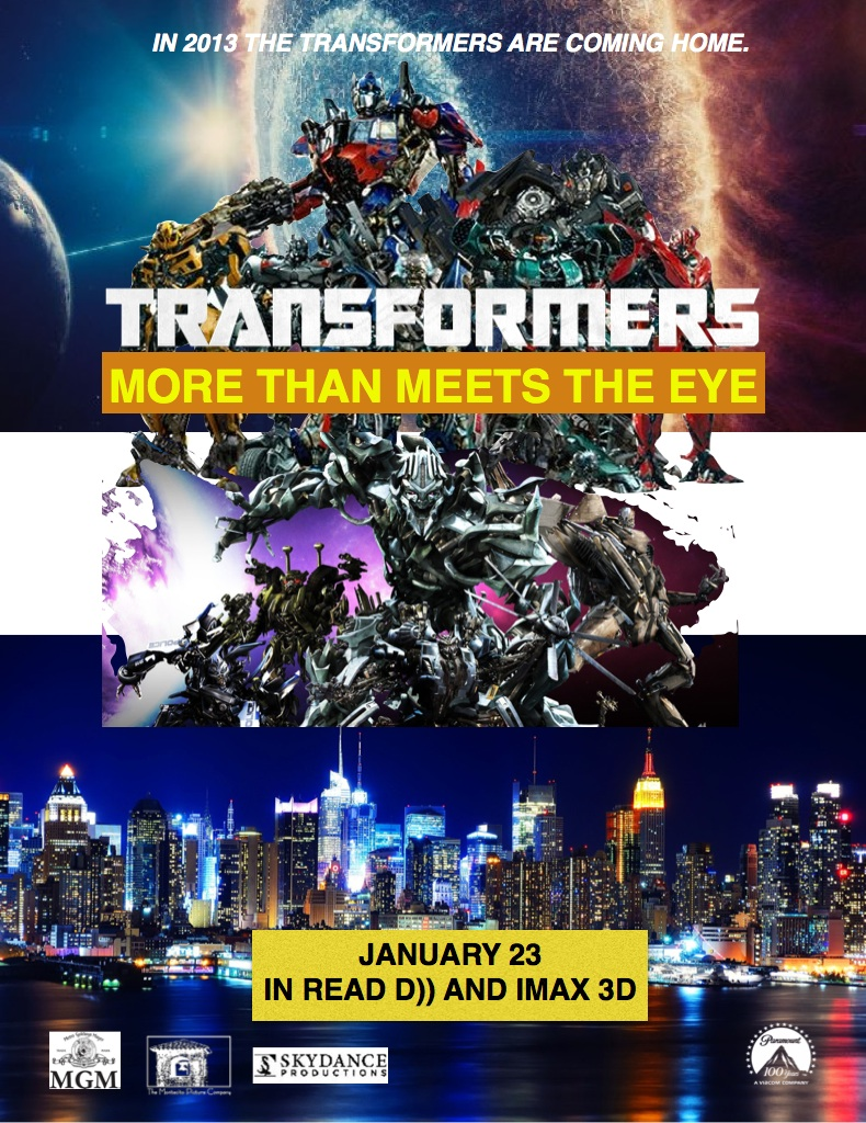 Transformers: More Than Meets The Eye (film)