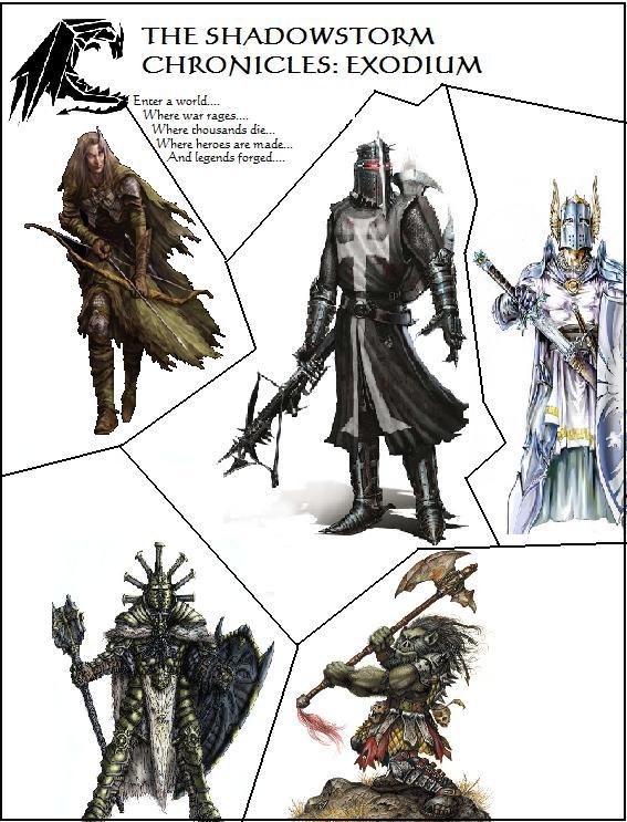 The Shadowstorm Chronicles: Exodium