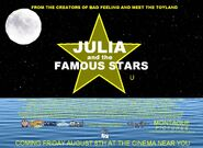 Julia and the Famous Stars UK Poster