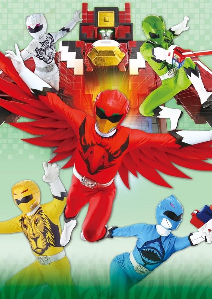 Power Rangers: Cubeimals