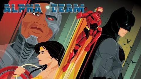 ALPHA TEAM soundtrack Justice League SDCC Trailer music