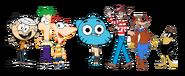Kids networks mascots by appleberries22 der6jst-fullview