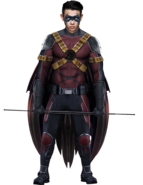 Ryan potter red robin by spider maguire-dap7mtj