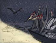 Jurassic aftermath bonus pteranodon lighthouse by taliesaurus dcjnam8-pre