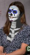Jennifer Garner as a day of the dead lady