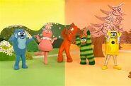 The gabba gabba gang
