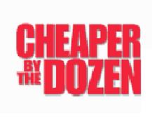 Cheaper by the Dozen logo.png