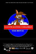 Giants Eating Children The Movie US Poster