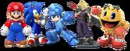 Video game respective mascots by appleberries22 derpmqa-fullview