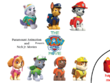 The Paw Patrol Movie/Happy Meal Toys