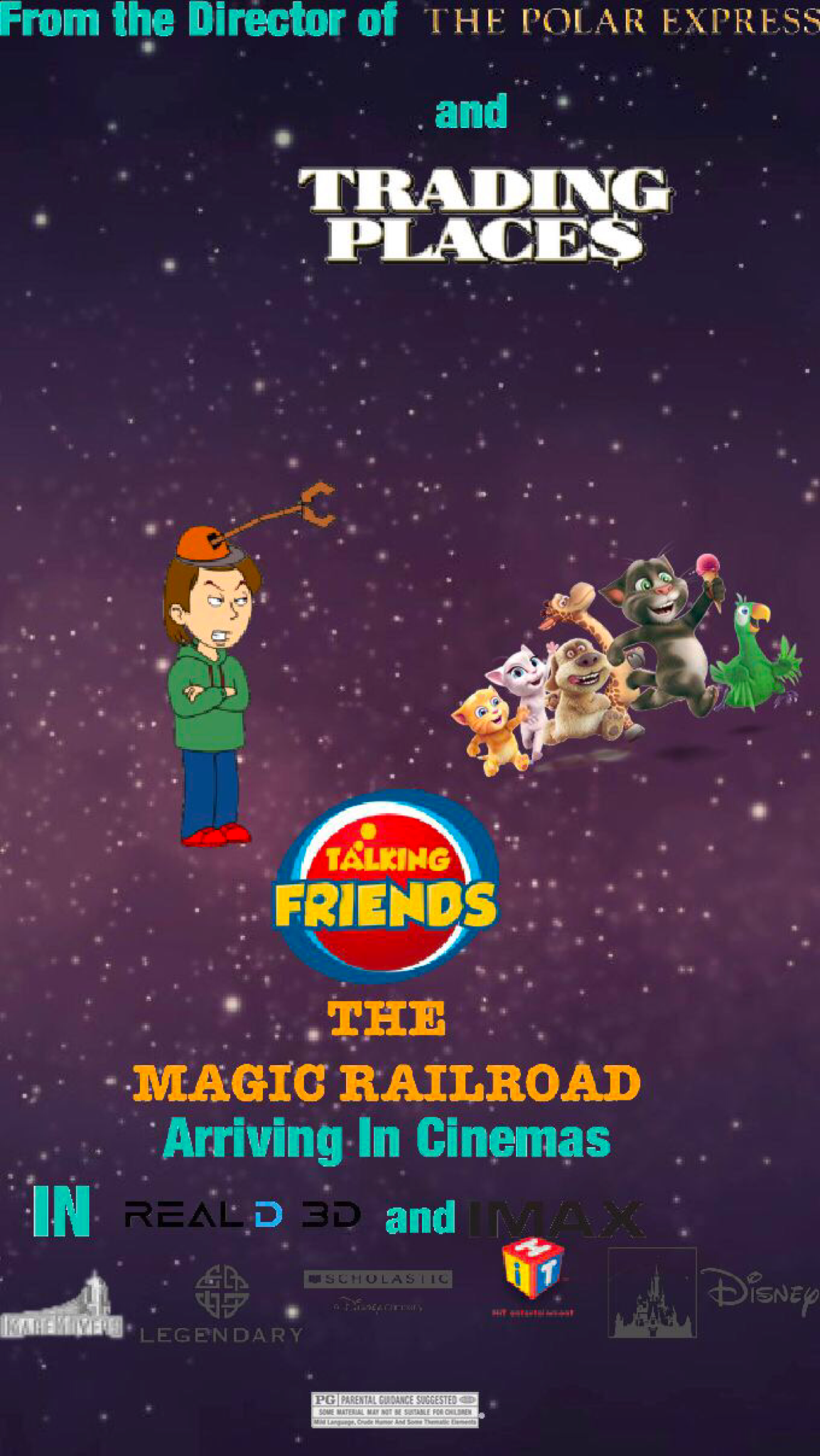 Talking Friends and The Magic Railroad (2019)