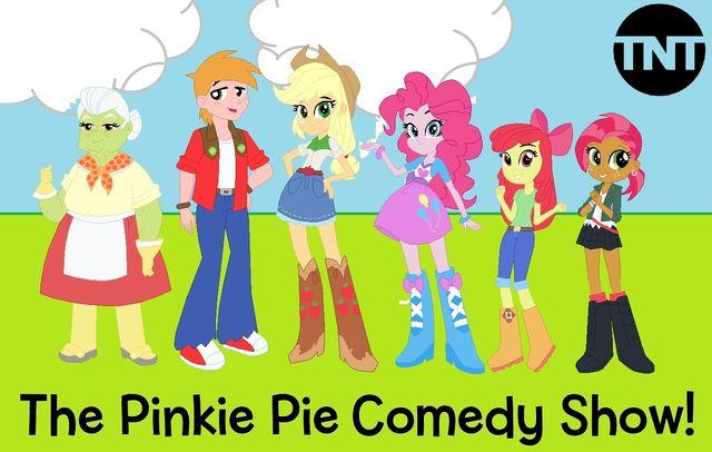 The Pinkie Pie Comedy Show!