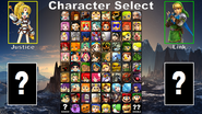 LoZvMD Full Character Select Screen