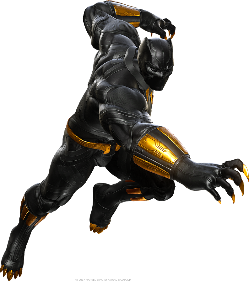 Black Panther (M.U.G.E.N Trilogy)