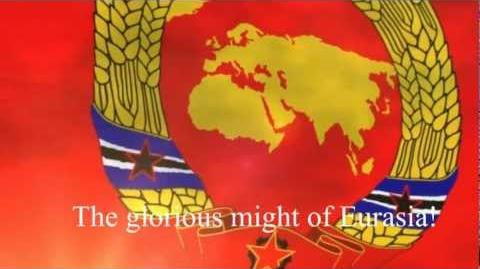"""Anthem of the Union of Socialist Eurasia - """"March of the USE"""" """"Eurasia Forever""""-0"""