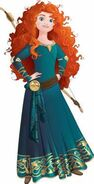 Merida princess brawl