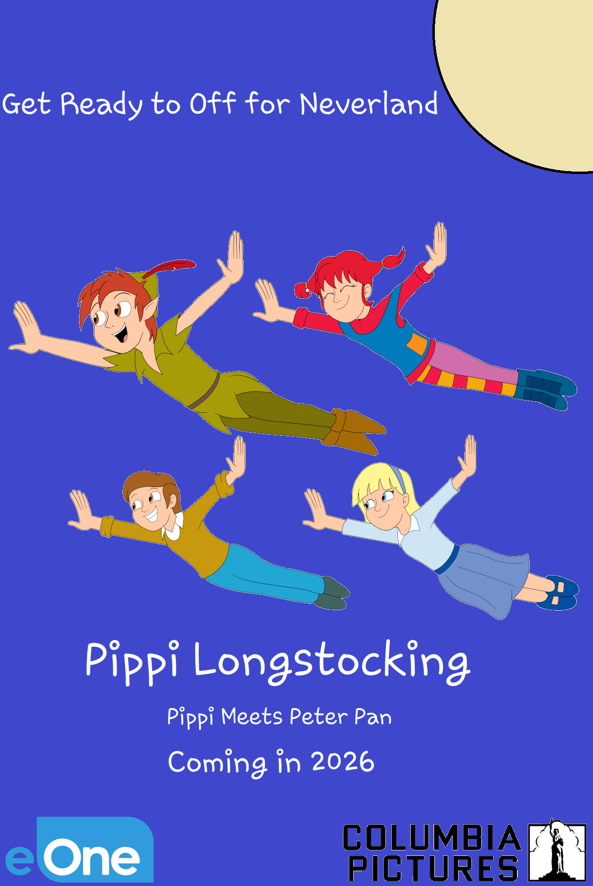 Pippi Longstocking: Pippi meets Peter Pan
