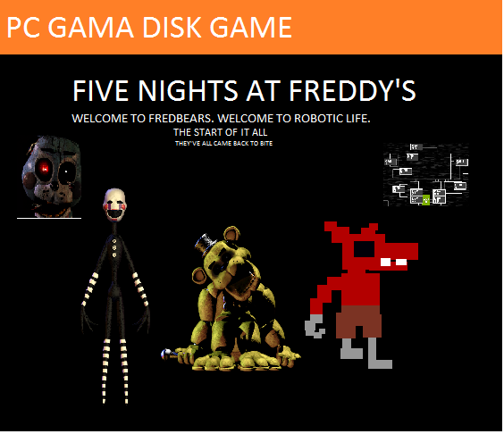 Five Nights at Freddy's (PC GAMA Version)