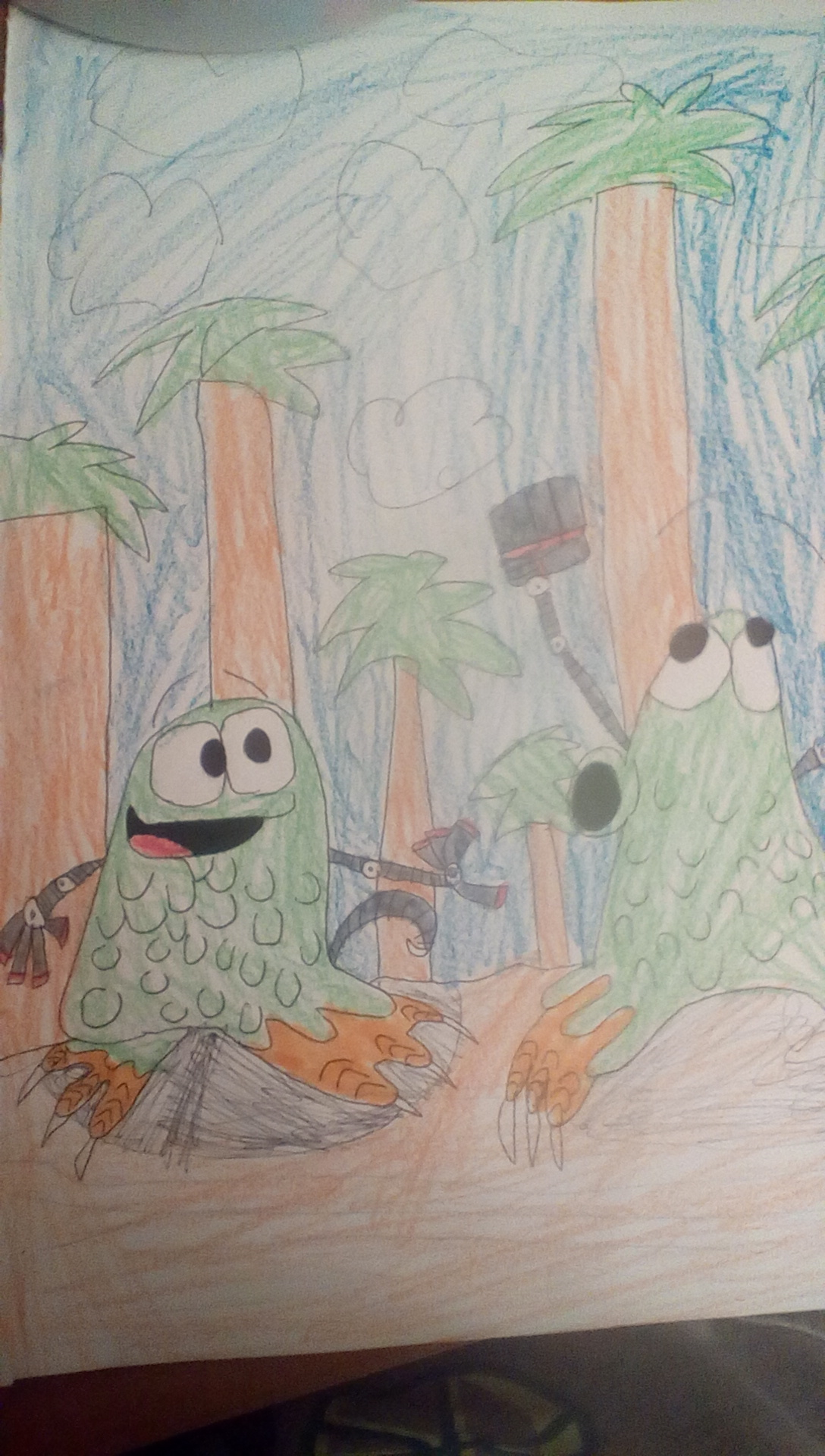 The Adventures of The EEbs In The Forest