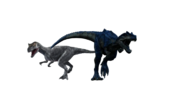 Jurassic Park Franchise Allosaurus