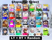 SBKIV Character Select 02 Xbox One Version