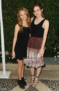 Maude and Iris Apatow