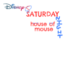 Disney's Saturday Night House of Mouse