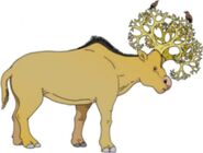 Tree-antlered deer (SciiFii)