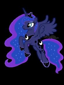Princess Luna .by AgnessAngel.png