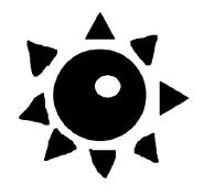 Czarne słońce symbol
