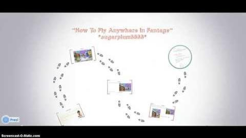 How To Fly Anywhere In Fantage!