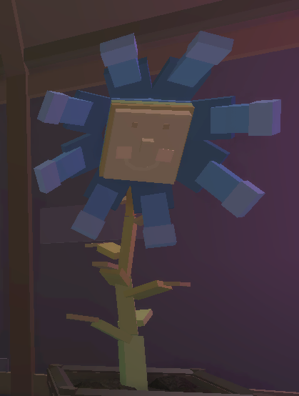 Noble Blue Flower (NPC)