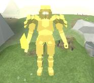Ancient Gold Knight celestial peak