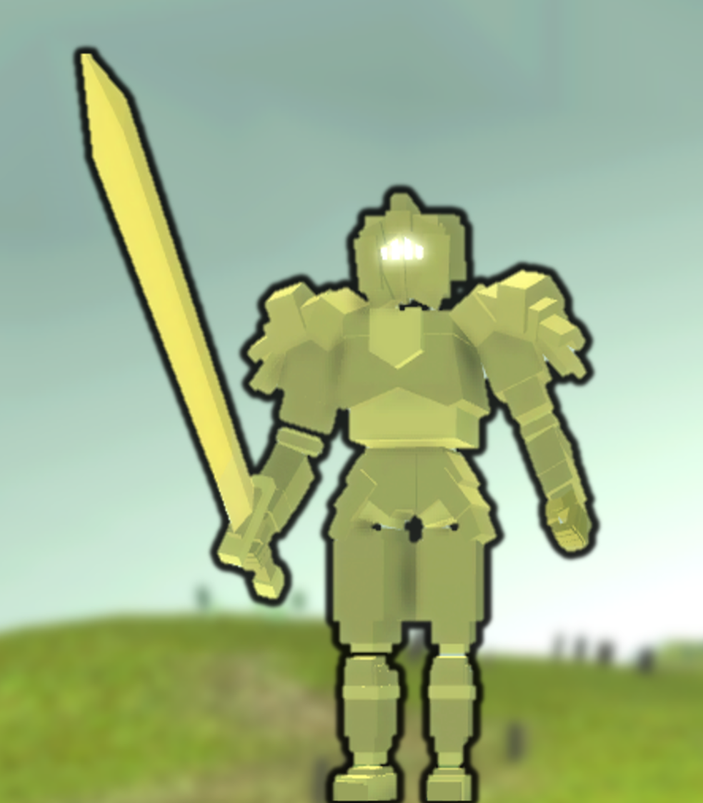 Ancient Gold Knight