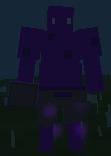 Close up purple ogre