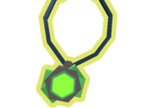 Green Crystal Amulet