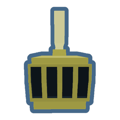 Royal Gold Helmet