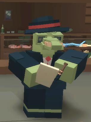 Enlightened Croc Waiter