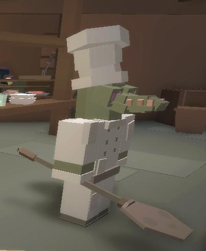 Awoken Croc Chef