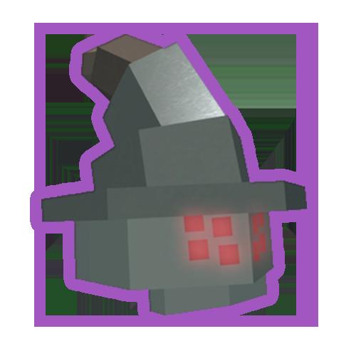 Corrupted Wizard's Helmet
