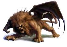 Иллюстрация к бестиарию сеттинга Warhammer Fantasy Roleplay