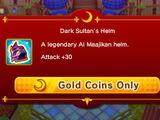 Dark Sultan's Helm