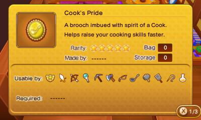 Cook's Pride