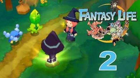 Fantasy Life Let's Play Walkthrough 2 - Connecting With The Water And Earth Spirits!