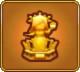 Golden Goddess Statue