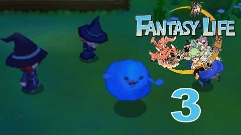 Fantasy Life Let's Play Walkthrough 3 - Spook Be Gone!