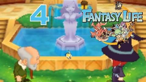 Fantasy Life Let's Play Walkthrough 4 - Flutter's Requests And Sightseeing!