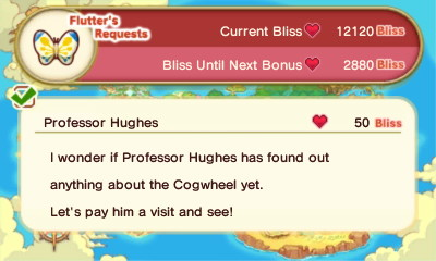 Professor Hughes (Flutter's Requests)